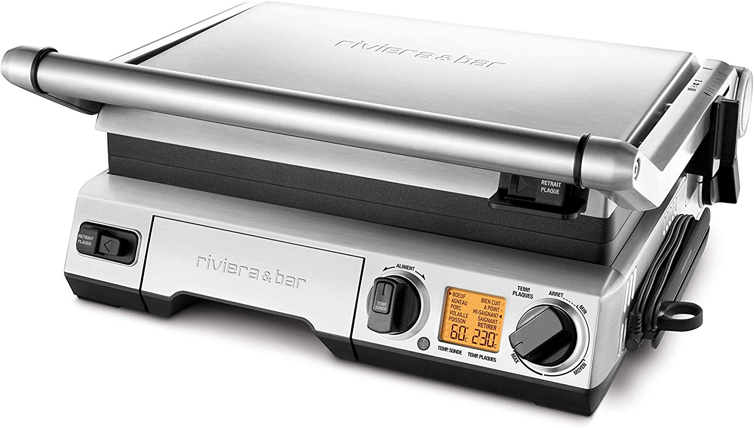 Plancha multifonction grill barbecue
